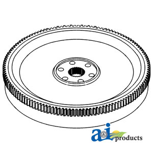 UCA10100 Flywheel with Ring Gear---Replaces A153946